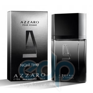 Azzaro Pour Homme Night Time  - туалетная вода - 50 ml