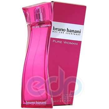Bruno Banani Pure Woman - туалетная вода -  пробник (виалка) 1.2 ml