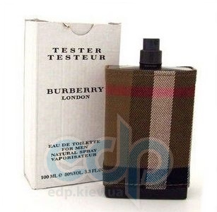 Burberry London Fabric For Men - туалетная вода - 100 ml TESTER