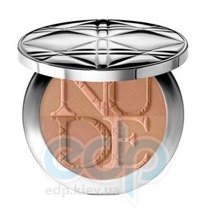 Пудра компактная Christian Dior - Diorskin Nude Tan Healthy Glow Enhancing Powder №002 Sunlight