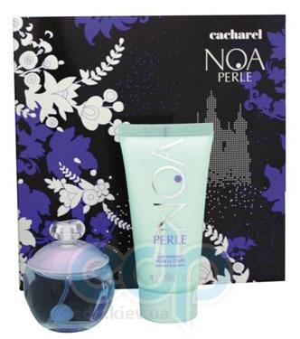 Cacharel Noa Perle -  Набор (парфюмированная вода 50 + лосьон-молочко для тела 50 + гель для душа 50)