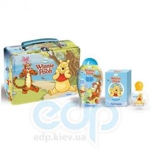Admiranda Winnie The Pooh - Набор подарочный (Туалетная вода Winnie The Pooh edt 50 ml+Пена для ванны Winnie The Pooh 250 ml+чемоданчик) (арт. AM 71340)