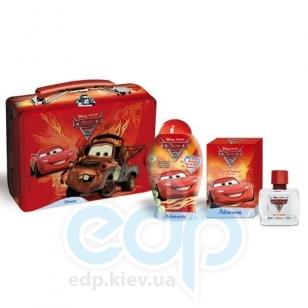 Admiranda Cars2 - Набор подарочный (Туалетная вода Cars2 50 ml+Гель для душа Cars2 300 ml+чемоданчик) (арт. AM 71637)