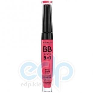 Блеск для губ увлажняющий с эффектом естественного сияния Bourjois - BB Gloss 5в1 01 Фуксия - 5.7 ml