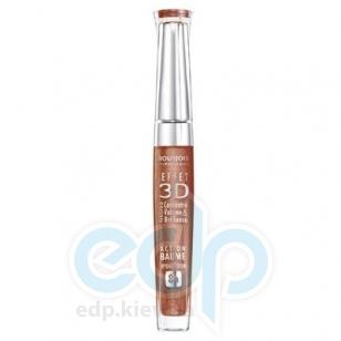 Блеск для губ устойчивый с эффектом бальзама Bourjois -  Effet 3D Balm Action 8h 02 Коричневый - 5.7 ml