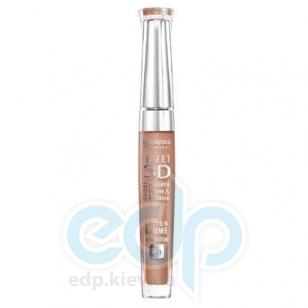 Блеск для губ устойчивый с эффектом бальзама Bourjois - Effet 3D Balm Action 8h 33 Сверкающий бежевый - 5.7 ml