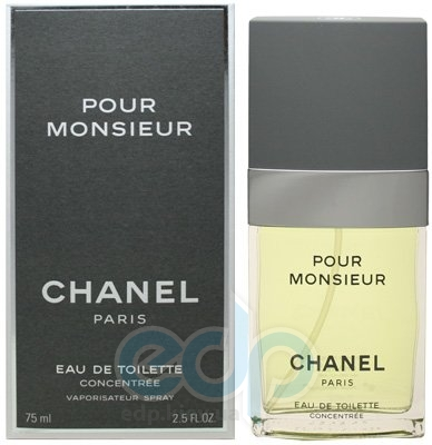 Chanel Pour Monsieure concentree - туалетная вода - 75 ml