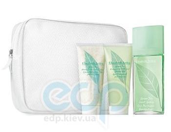 Elizabeth Arden Green Tea -  Набор (парфюмированная вода 50 + лосьон-молочко для тела 100 + гель для душа 100 + косметичка)