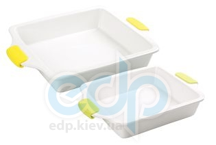 Maestro - Противень керамический квадратный с силиконовыми ручками (арт. МР11243-63)