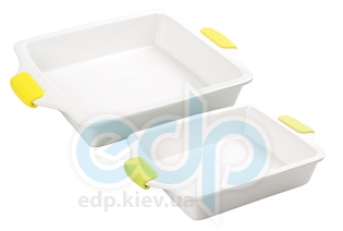 Maestro - Противень керамический квадратный с силиконовыми ручками (арт. МР11443-63)