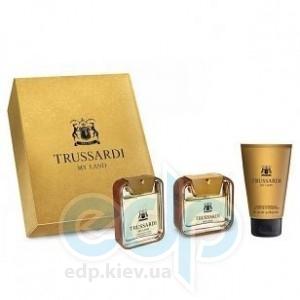 Trussardi My Land -  Набор (туалетная вода 100 + гель для душа 100 + после бритья 100)