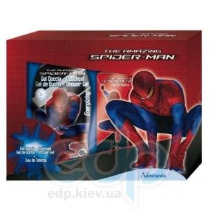 Admiranda Spider-Man - Набор подарочный (Туалетная вода Spider-Man 50 ml + Гель для душа с экстрактом женьшеня и маслом ореха баобаба Spider-Man 300 ml) (арт. AM 73628)
