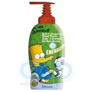 Admiranda Simpsons - Гель-пена для душа тонизирующий с экстрактом мяты и орехов баобаба - 1000 ml (арт. AM 73137)