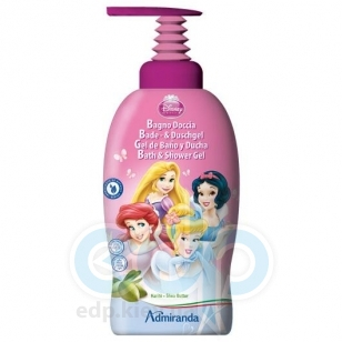 Admiranda Disney Princess - Гель-пена для душа с экстрактом масла ши - 1000 ml (арт. AM 71265)