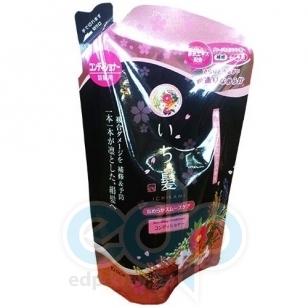 Kanedo Бальзам-ополаскиватель для поврежденных волос, разглаживающий с ароматом горной сакуры (сменная упаковка) - Ichikami - 360ml (KN 72086)