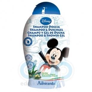 Admiranda Mickey Mouse - Шампунь-гель для душа экстрактом масла оливы и алоэ-вера - 250 ml (арт. AM 71061)