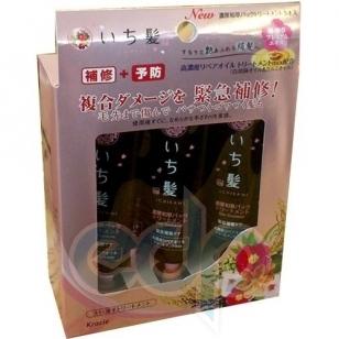 Kanedo Комплекс востанавливающий для окрашенных и поврежденных волос с ароматом горной сакуры - Ichikami - 5 * 15 g (KN 61768)
