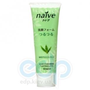 Kanebo Пенка для умывания с экстрактом алоэ для комбинированной и жирной кожи - Naive - 110 g (KN 67382)
