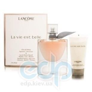 Lancome La vie est belle - Набор (парфюмированная вода 50 + лосьон-молочко для тела 50 + гель для душа 50)