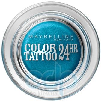 Тени для век кремово-гелевые 1-цветные Maybelline - Color Tattoo 24h №20 Бирюза навсегда - 9 ml