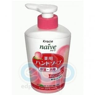 Kanebo Мыло для рук жидкое с экстрактом листьев персикогово дерева - Naive - 250 ml (KN 17751)