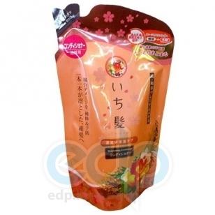 Kanebo Бальзам - ополаскиватель для поврежденных волос интенсивно увлажняющий с экстрактом масла абрикоса (сменная упаковка) - Ichikami - 360 ml (KN 72096)