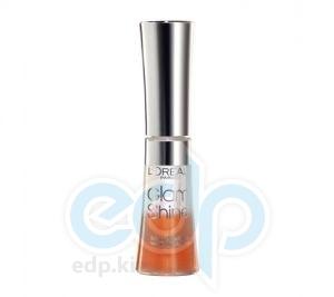Блеск для губ увлажняющий L'Oreal - Glam Shine №723 Мандариновый - 6 ml