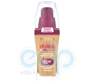 Тональный крем для лица устойчивый L'Oreal - Infaillible 16h №300 Янтарный - 30 ml