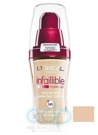 Тональный крем для лица устойчивый L'Oreal - Infaillible 16h №235 Медовый - 30 ml
