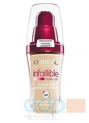 Тональный крем для лица устойчивый L'Oreal - Infaillible 16h №220 Натуральный бежевый - 30 ml