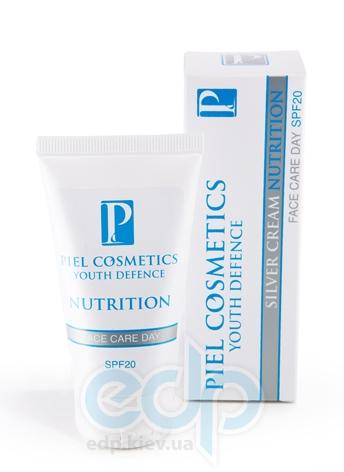 Piel Cosmetics - Youth Defense Silver cream Nutrition SPF20 - Дневной питательный крем - 50 ml