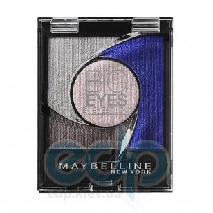 Тени для век 4-цветные компактные стойкие Maybelline - Big Eyes by Eyestudio №04 Мерцающий пастельно-голубой - 3.75 g