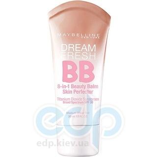 Крем-уход для лица с тонирующим эффектом Maybelline - BB Dream Fresh SPF30 Светлый - 30 ml