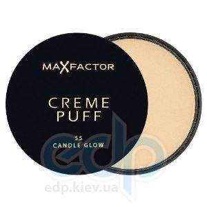 Пудра-крем для лица компактная Max Factor - Creme Puff №55 Блик свечи - 21 g