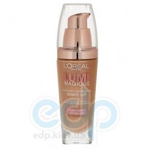 Тональный крем для лица выравнивающий, придающий сияние L'Oreal - Lumi Magique №K5 Розово-песочный - 30 ml
