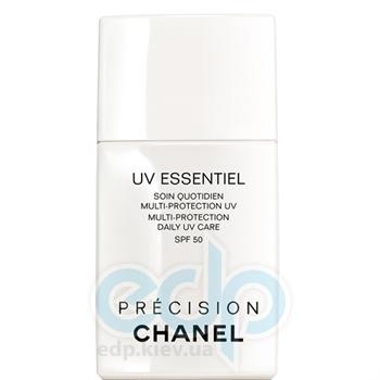 Крем для лица защитный увлажняющий для всех типов кожи Chanel - Uv Essentiel SPF50 - 30 ml