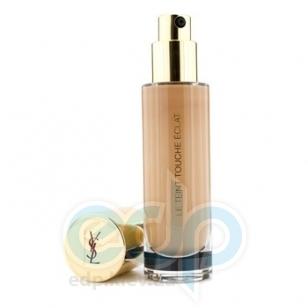 Тональный крем для лица увлажняющий, придающий коже естественное сияние Yves Saint Laurent - Le Teint Touche Eclat Foundation №BR50 SPF19 - 30 ml