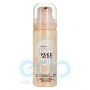 Мусс тональный для лица увлажняющий Maybelline - Dream Nude Mousse №020 SPF16 Розово-бежевый - 50 ml