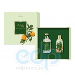 Maurer & Wirtz Acqua Colonia Blood Orange & Basil - Набор подарочный ( туалетная вода 170 ml + гель для душа 75 ml)