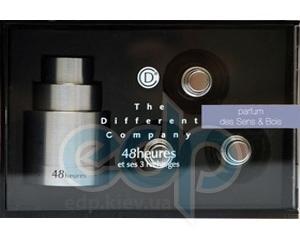 The Different Company 48h Un Parfum De Sens & Bois travel kit (Алюминиевый чехол) - спрей туалетная вода - 3 x 10 ml