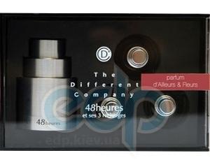 The Different Company Parfum D'Ailleurs & Fleurs travel kit (Алюминиевый чехол) - спрей парфюмированная вода - 3 x 10 ml
