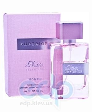 s.Oliver Superior Woman  - туалетная вода - 50 ml