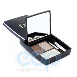 Тени для век 3-цветные компактные Christian Dior - 3 Couleurs Smoky №571Smoky Nude - 5.5g