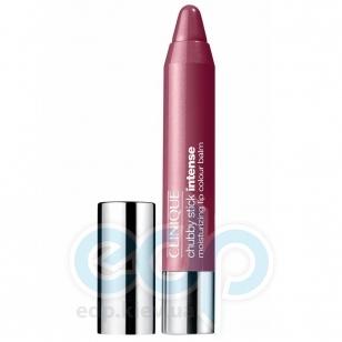 Помада-бальзам для губ интенсивно увлажняющая, придающая насыщенный оттенок Clinique - Chubby Stick Intense Moisturizing Lip Colour Balm №07 Broadest Berry - 3g