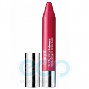Помада-бальзам для губ интенсивно увлажняющая, придающая насыщенный оттенок Clinique - Chubby Stick Intense Moisturizing Lip Colour Balm №03 Mightiest Maraschino - 3g