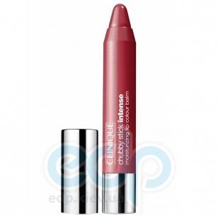 Помада-бальзам для губ интенсивно увлажняющая, придающая насыщенный оттенок Clinique - Chubby Stick Intense Moisturizing Lip Colour Balm №02 Chunkiest Chili - 3g
