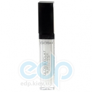 Блеск для губ Gosh - Light`n Shine №01 White - 6 ml