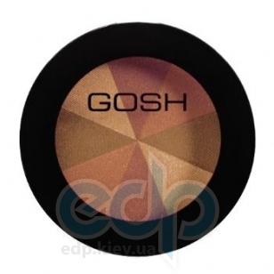 Румяна для лица Gosh - Multi Colour Blush №51 Bronze Pie/Золотисто-Коричневый - 8 g