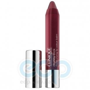 Помада-бальзам для губ интенсивно увлажняющий, устойчивый Clinique - Chubby Stick Moisturizing Lip Colour Balm №07 Super Strawberry - 3g