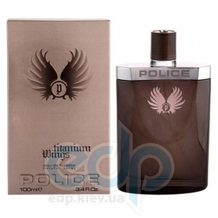 Police Wings Titanium Men - туалетная вода - 50 ml